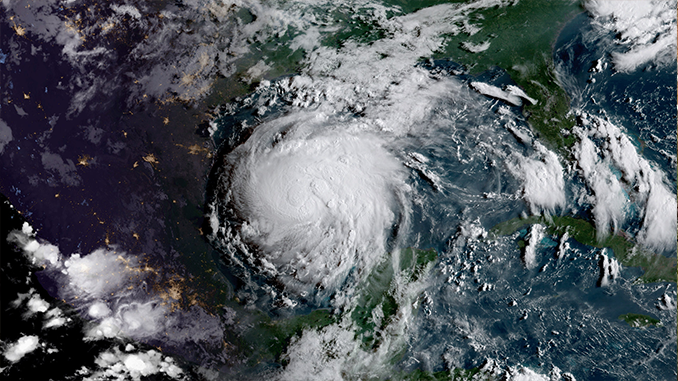 Hurricane Harvey from NASA