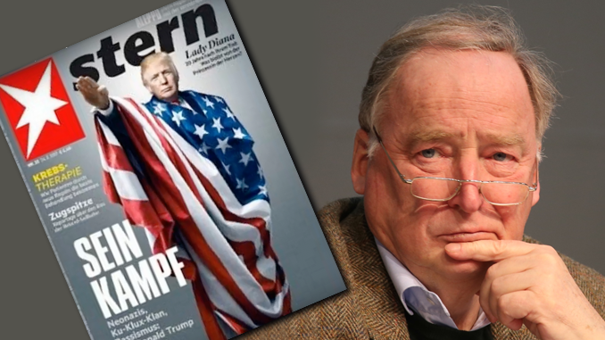 Stern Magazine cover with AfD German leader, Alexander Gauland