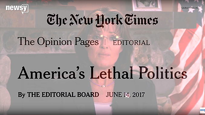 Sarah Palin and The New York Times article